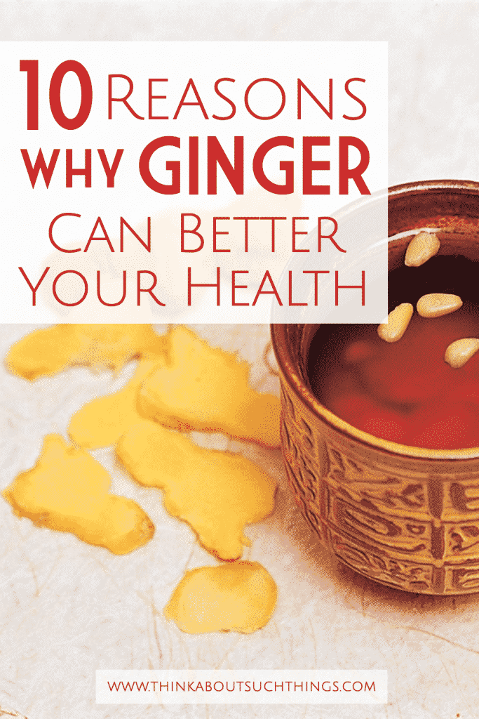Ginger has amazing health benefits. Learn 10 reasons why you should be eating it.