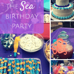 Under the sea party theme