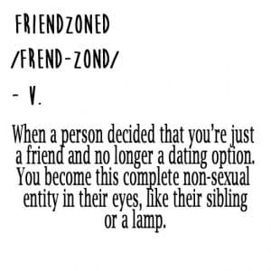 friendzoned meaning