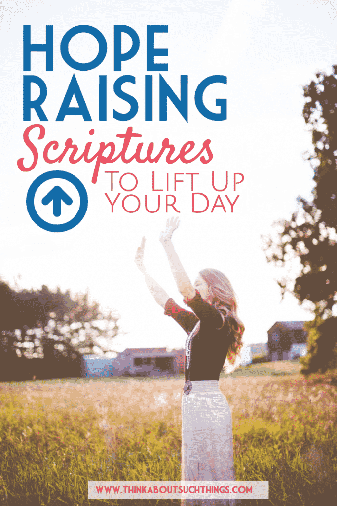 Dive into scripture on hope to help lift up and encourage your day. These Bible verses are great for prayer, meditation, and memorizing.