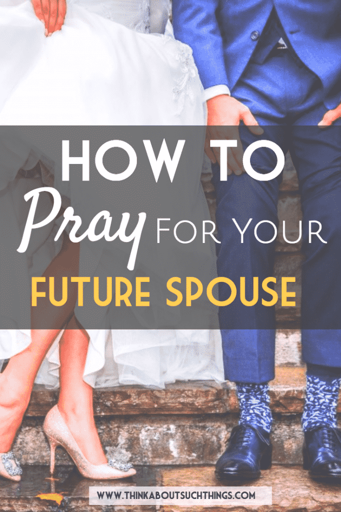 Learn how to pray for your future spouse during a season of waiting. God will move mighty in their life! #seasonofwaiting #singleness #single #dating #marriage #Christian #datingtips