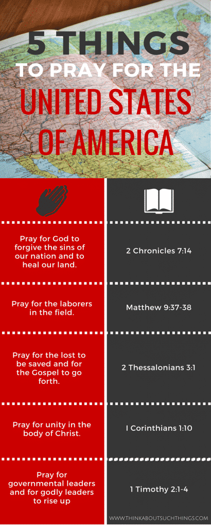 praying for america scriptures