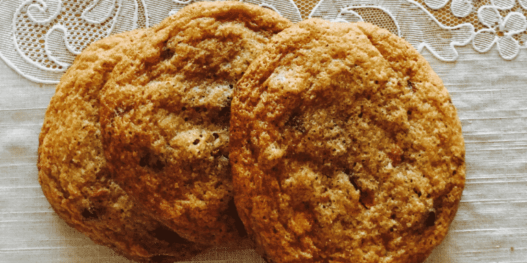 Gluten Free Chocolate Chip and Coffee Cookies