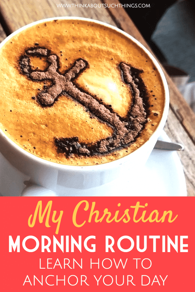 Christian morning routine