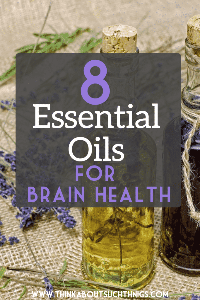 Essential oils for brain health
