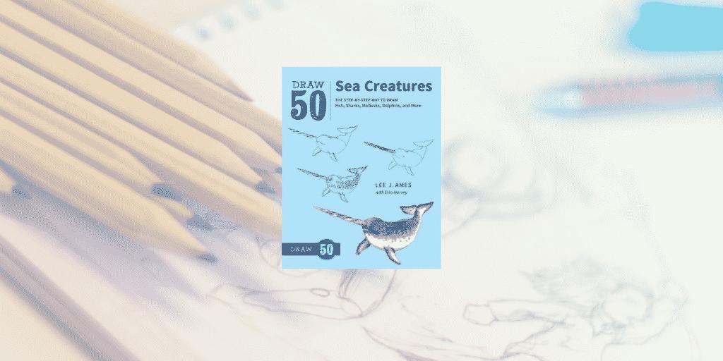 Draw 50 sea creatures