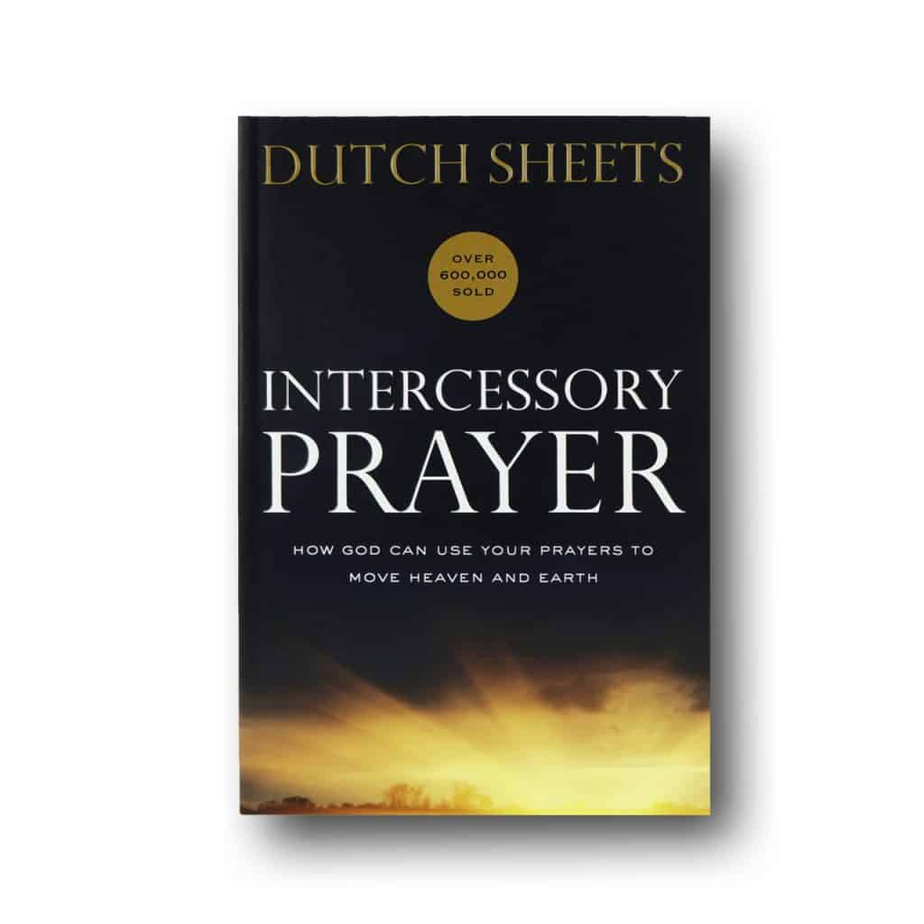 A book on intercessory prayer by Dutch sheets
