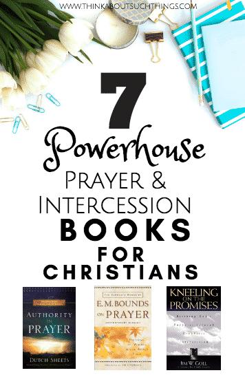 Christian books on prayer