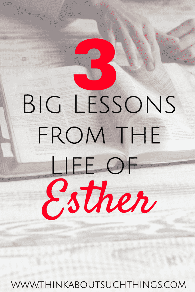 Lessons from Esther - Bible Teaching