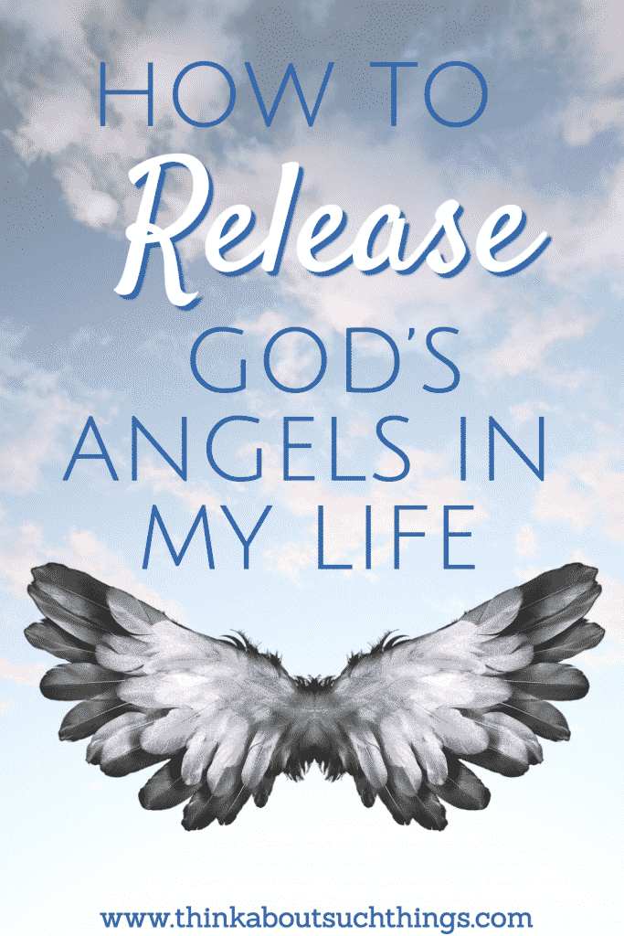 Learn How to release God's angels in your life by learning what the Bible says!