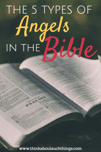 types of angels in the Bible