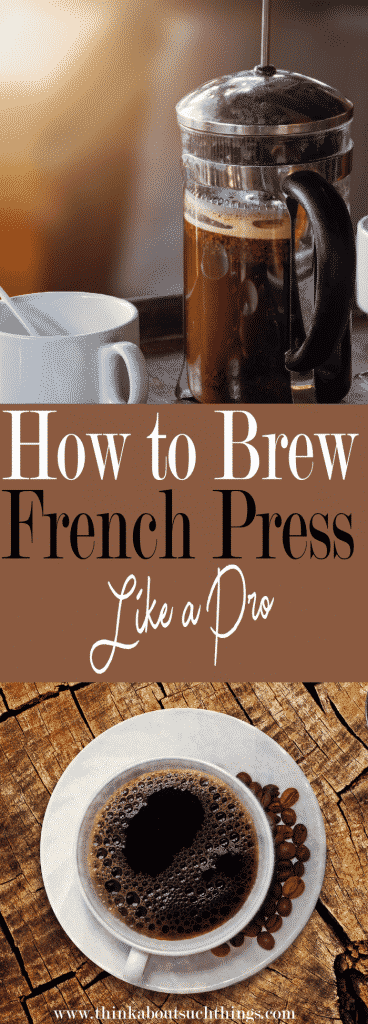 How to brew french press like a pro from home