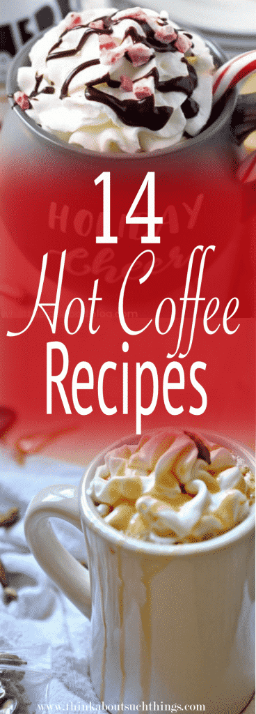 easy hot coffee recipes at home