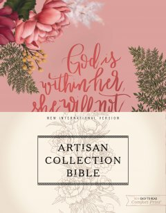 Exquisite from the inside out, the NIV Artisan Collection Bible stuns with its printed cover design showcasing