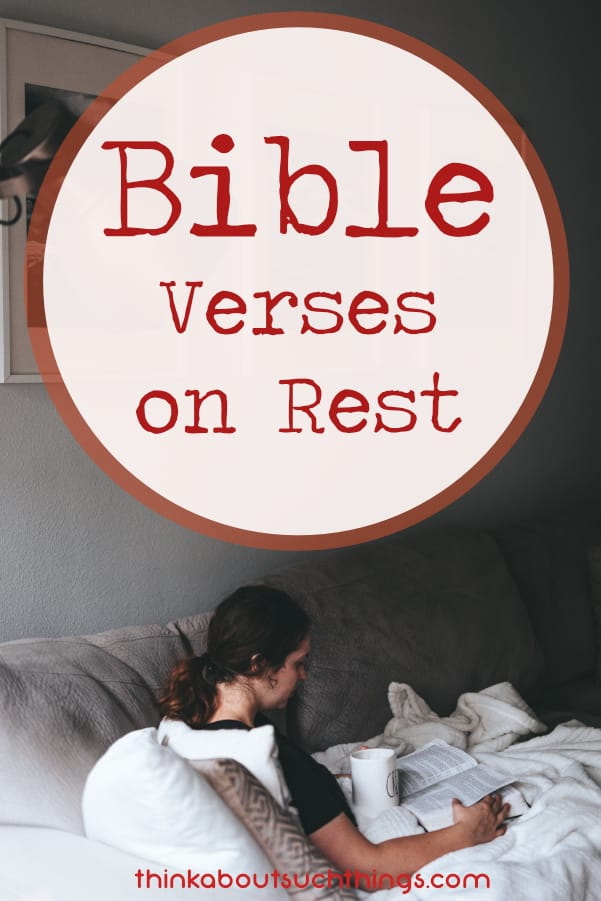 Check out these 16 Bible Verses on Rest. God wants us to rely on Him and destress. Time to relax with scriptures on rest #bible #jesus #christian #Bibleverses