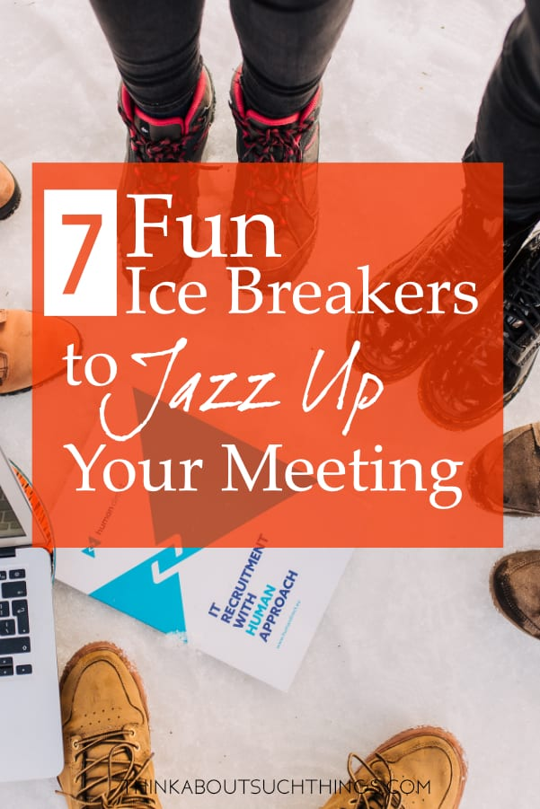 Fun Ice breaker games! Ice breakers and Team Build games are a great way to connect. #teambuilding #icebreakers