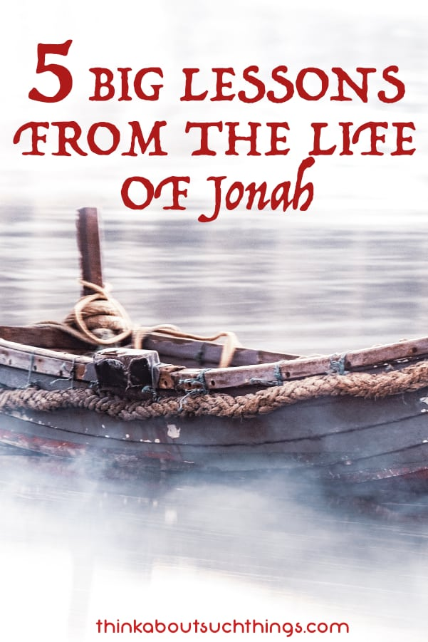 The book of Jonah is rich in wisdom for Christians today. We can learn so much about ourselves through these 5 lessons. Let's dig into our Bible and grow! #Bible #Jonah #Jesus #Christian #faith