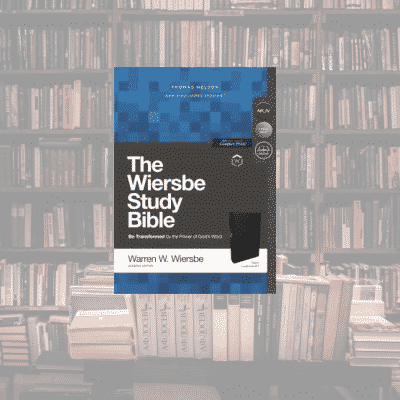 On My Bookshelf: Wiersbe Study Bible