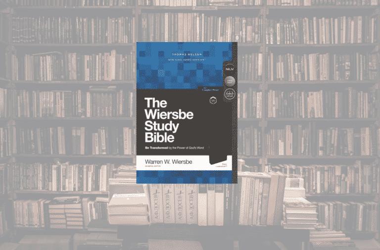 On My Bookshelf: Wiersbe Study Bible