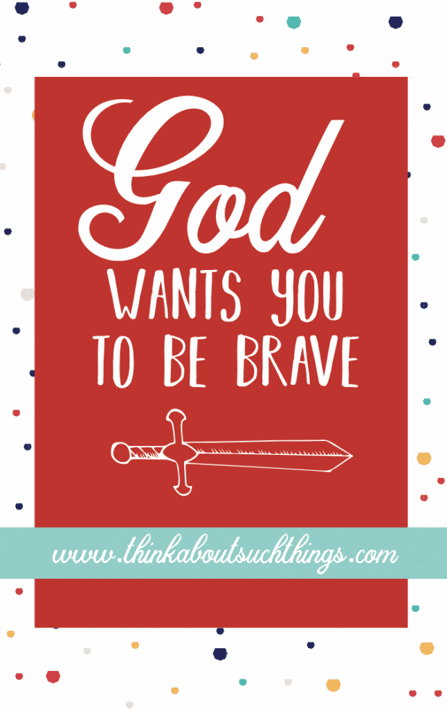 God wants you to be brave. He has a plan for you life even when things are fearful or you have been hurt. The thing about being brave is it doesn't come with the absence of fear and hurt. Bravery is the ability to look fear and hurt in the face and say move aside, you are in the way.