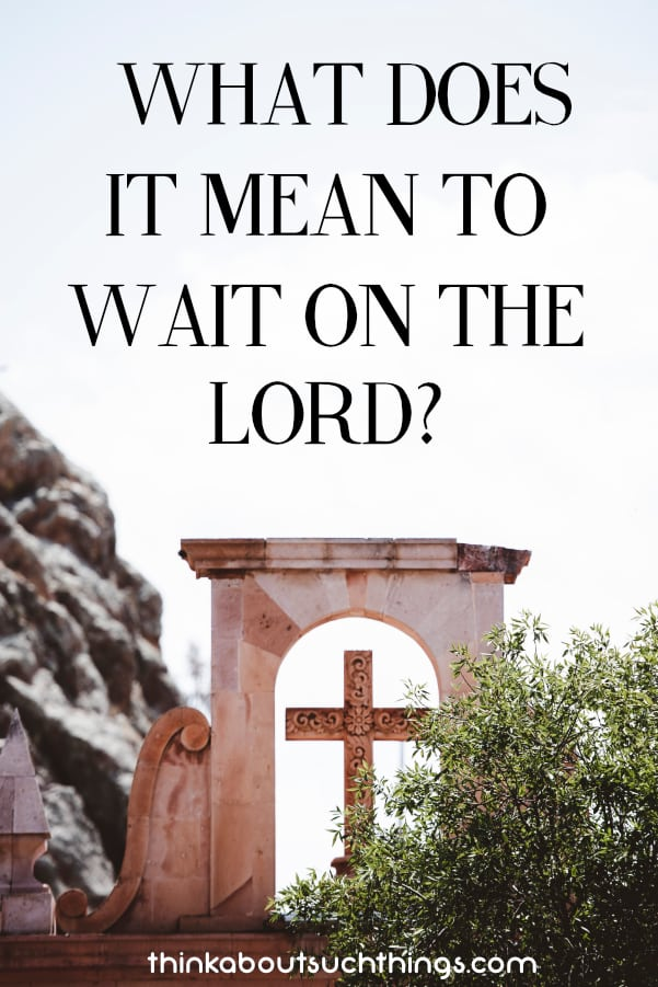 Have you ever wonder what does it mean to wait on the Lord? Well, discover what the Bible says and how we can draw near to God.