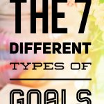 7 types of goals