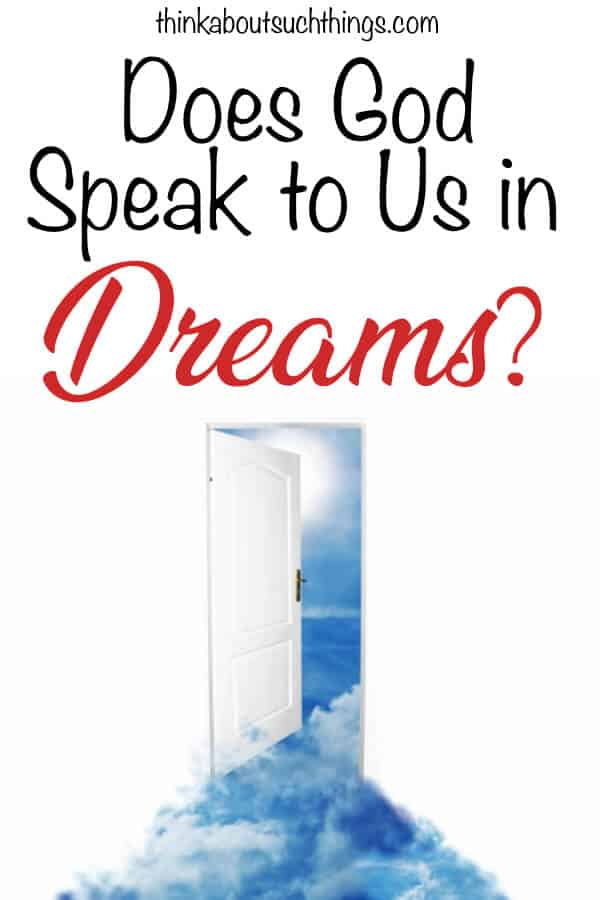 Does God speak to us in Dreams? There are lots of ways God speaks but what about Dreams? We will take a deep look into scripture to find out.