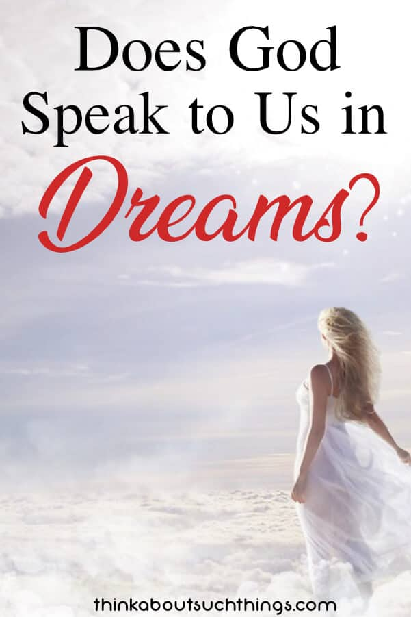 Have you ever wondered does God speak to us in dreams? He does! And we will take a look into the Bible to learn more