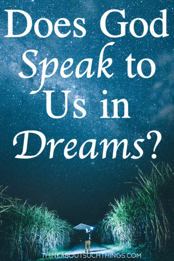 Have you ever wondered does God speak to us in dreams? Let's take a deep look into the Bible and see what it says about visions of the night.