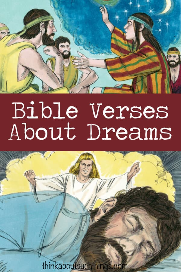 Have you ever wanted to study dreams in the Bible? Well, with this complete list of Bible verses about dreams you can take