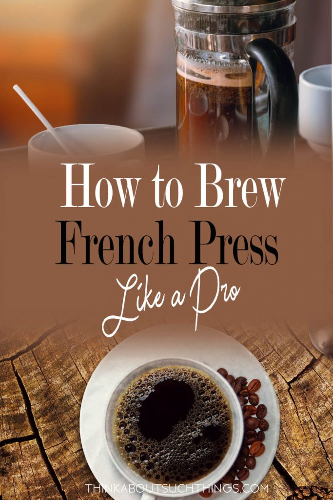 Love hot coffee recipes well make them with a french press!