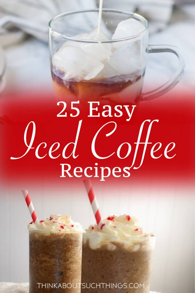 It's getting warm outside! It's time for some delicious easy homemade iced coffee! These recipes are great for summer or those random hot days in spring! Plus cheaper than Starbucks! Plus check out our homemade iced tea recipes