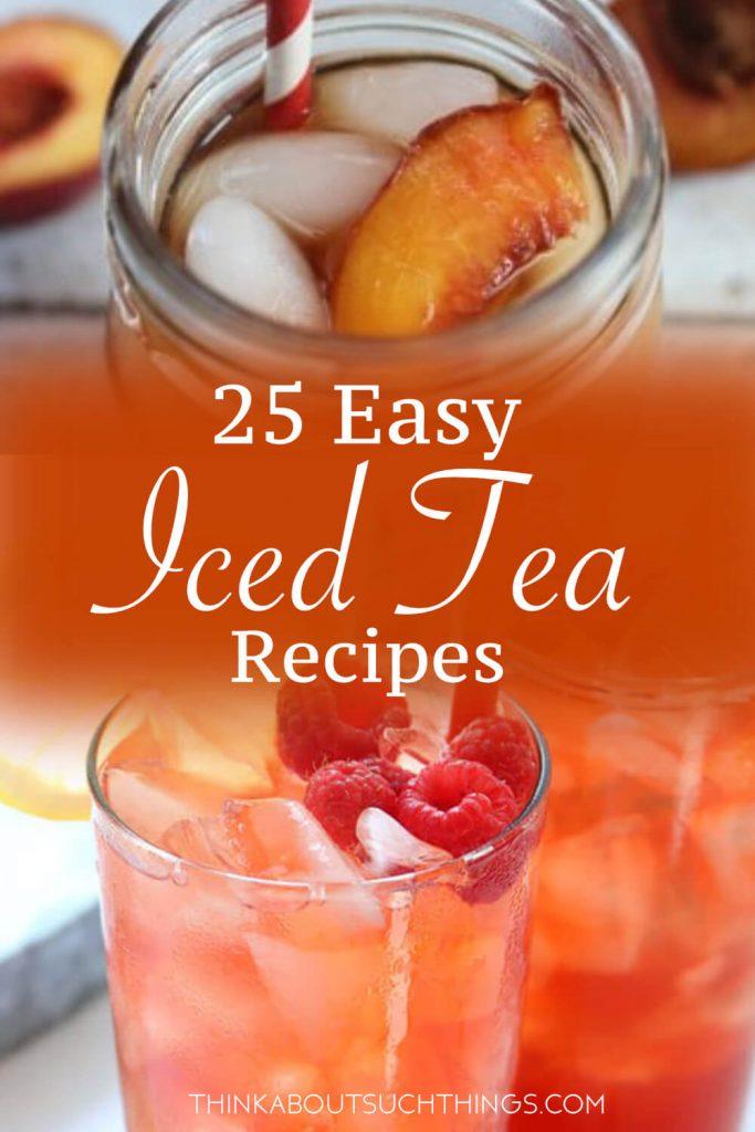 easy ice tea recipes