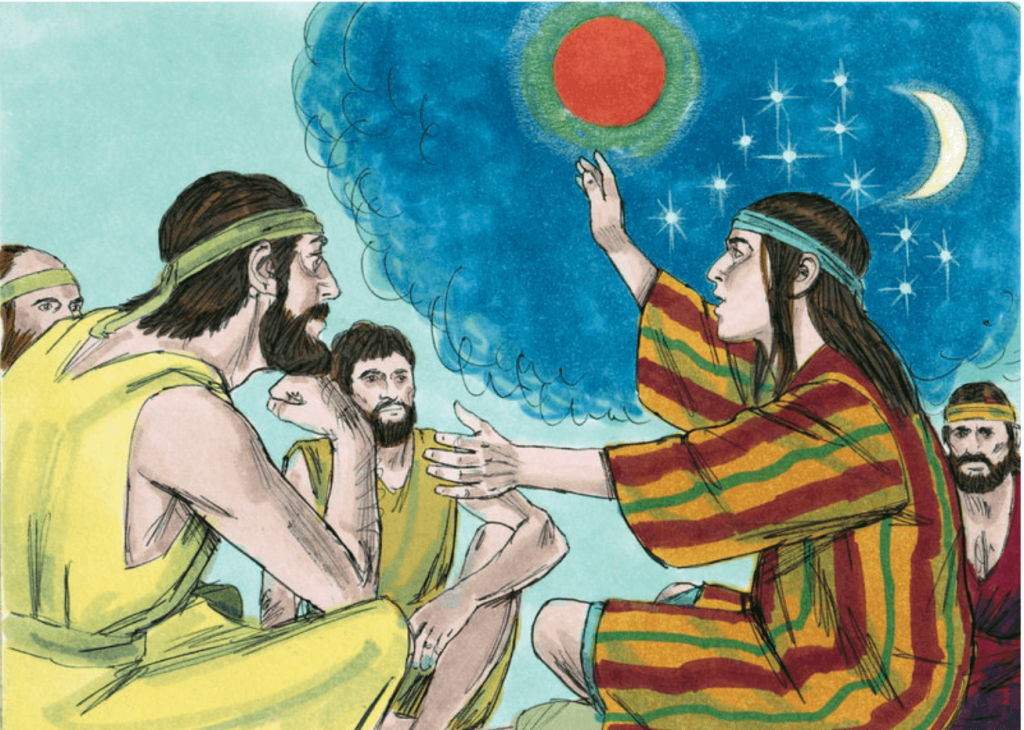 Joseph second dream about the sun and moon