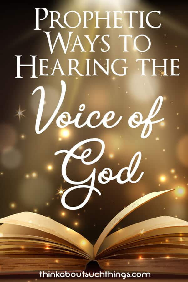 Learn how you can hear the voice of God!