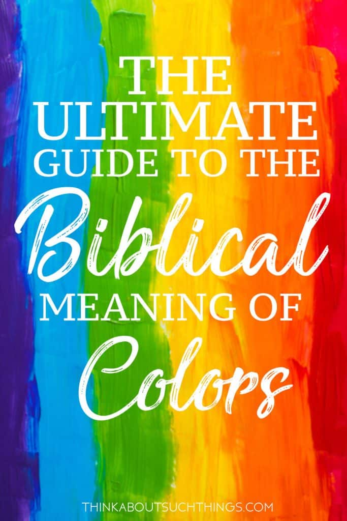 The Biblical Meaning of colors