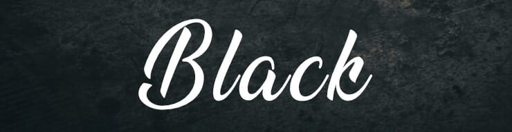black color meaning and symbolism in the Bible