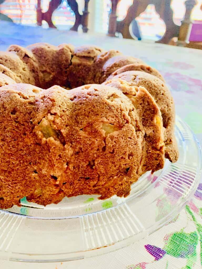 gluten free apple cinnamon cake