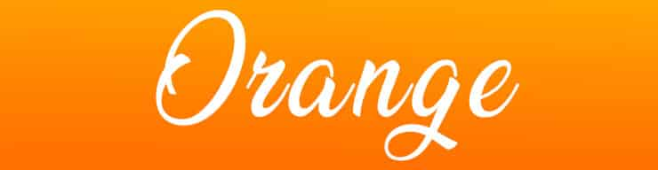 The spiritual and biblical meaning of the color orange