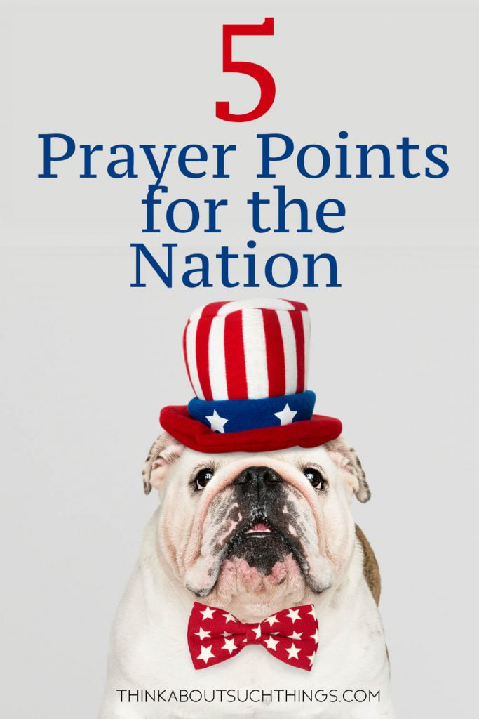 Pray for America like a prayer warrior! Learn 5 key prayer points to usher in revival for our nation!