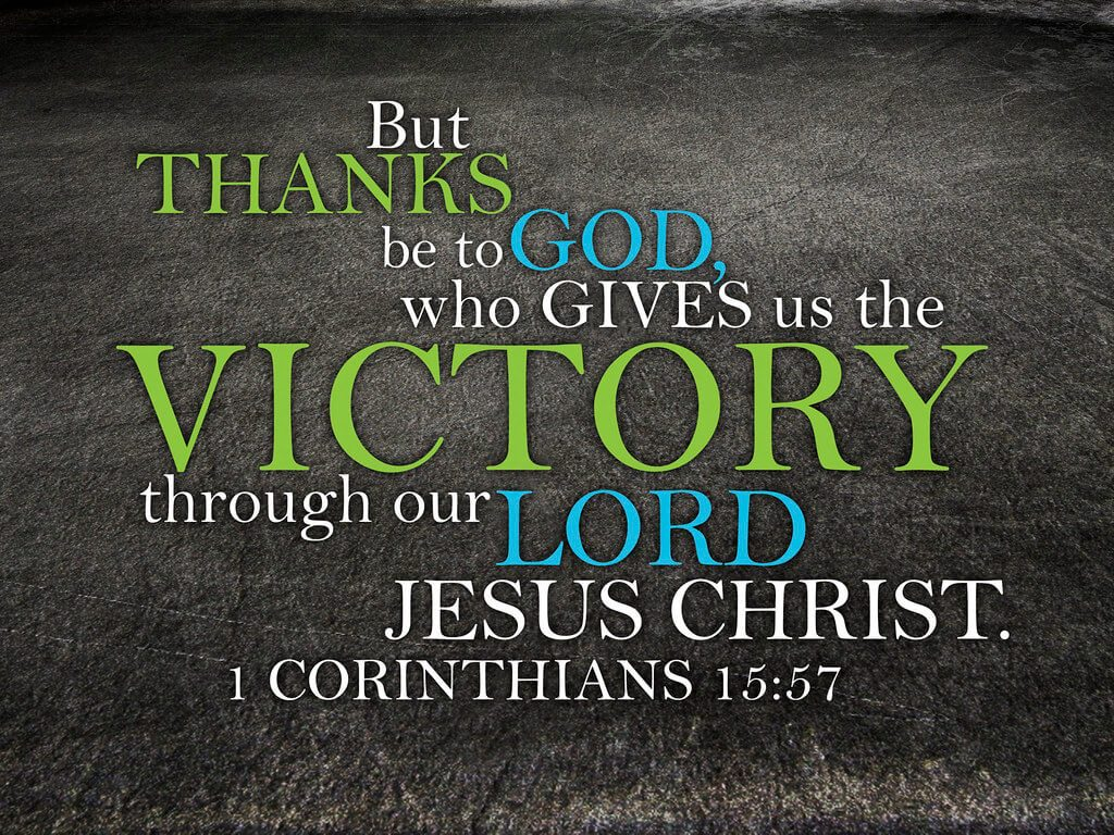 1 Corinthians 15:57 - We are victorious through our Lord Jesus Christ. We can pray for victory over our dreams of snakes