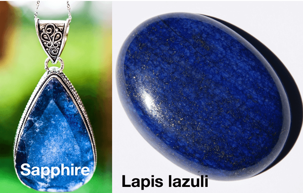 Sapphire and Lapis lazuli stones in the Bible. They are both the color blue. This helps us understand the spiritual meaning of colors especially blue.
