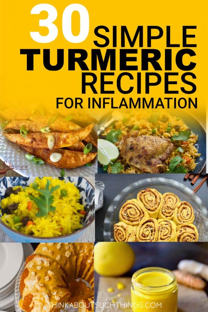 Simple Turmeric Recipes for Inflammation pin