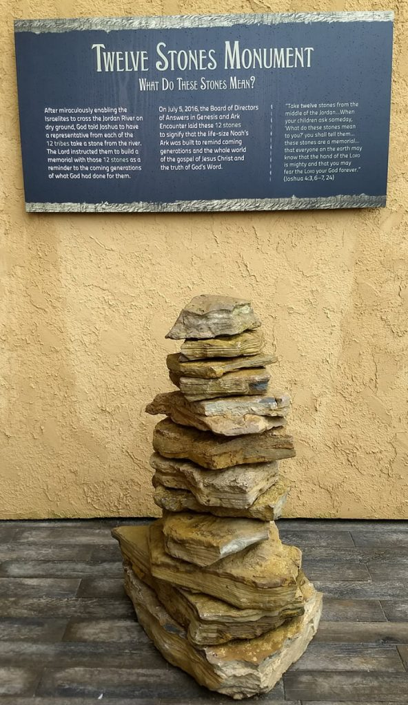 Stones of remembrance-Great way to stay in a place of thankfulness to God