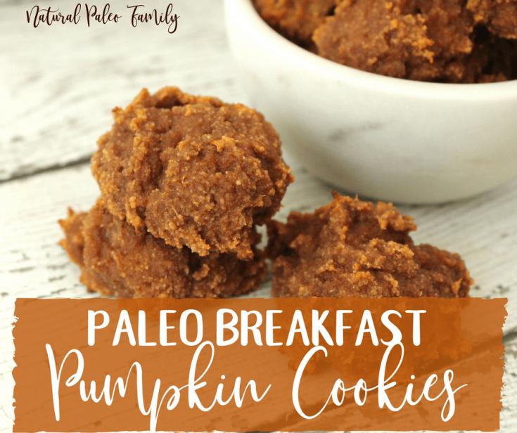 Paleo Breakfast Pumpkin Cookies