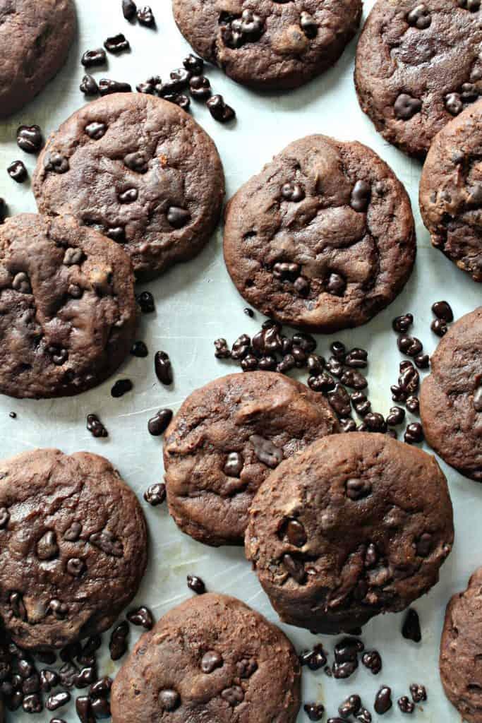Chocolate Nibs Cookies