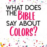 Meaning of colors in the Bible