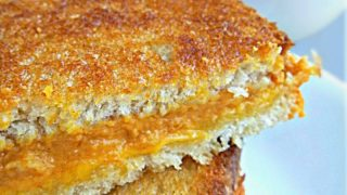 Cheddar Pumpkin Grilled Cheese Sandwiches