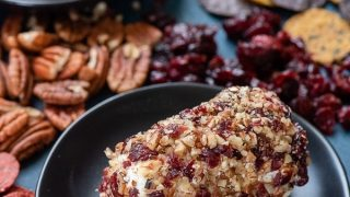 Cranberry Pecan Goat Cheese