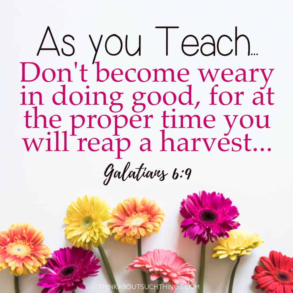 uplifting bible verses for teachers images think about
